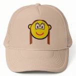Brunette buddy icon   caps_and_hats