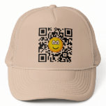 Qr Code emoticon 2D barcode  caps_and_hats