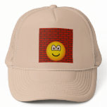 Against the wall emoticon   caps_and_hats