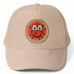 Watermelon emoticon   caps_and_hats