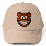 Teddy bear smile   caps_and_hats