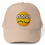 Two faced emoticon   caps_and_hats