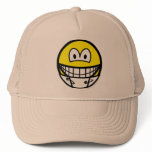 Diaper smile   caps_and_hats