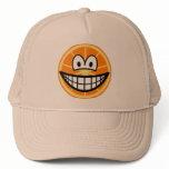 Orange smile   caps_and_hats