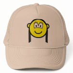 Black haired buddy icon   caps_and_hats