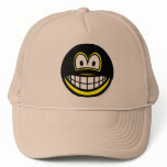 Masked smile   caps_and_hats