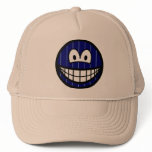 Pinstripe smile   caps_and_hats