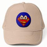 Superman emoticon Logo  caps_and_hats