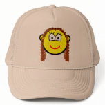 Curly hair buddy icon   caps_and_hats