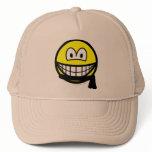 Black belt smile   caps_and_hats