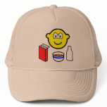 Breakfast buddy icon cereal  caps_and_hats