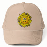 Sunflower emoticon   caps_and_hats