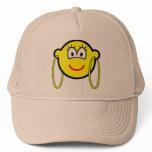 Big hoop earrings buddy icon   caps_and_hats