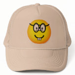 Nerd emoticon   caps_and_hats