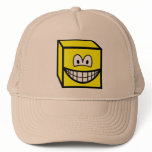 Cube smile   caps_and_hats