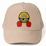 Boxing smile knocked out tooth  caps_and_hats