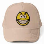 Evil smile   caps_and_hats