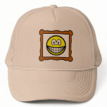 Picture frame smile   caps_and_hats