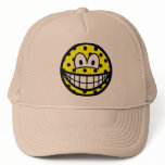 Polka dotted smile   caps_and_hats