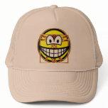 Vitruvian Man smile Da vinci  caps_and_hats