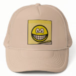 Post-it note smile   caps_and_hats