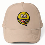 Lipstick smile   caps_and_hats