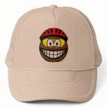 Biker smile muddy  caps_and_hats