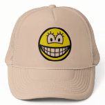 She smile   caps_and_hats