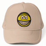 Hairnet smile   caps_and_hats