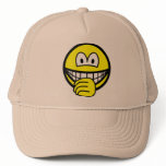 Thumb sucking smile   caps_and_hats