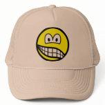 Schizophrenic smile   caps_and_hats