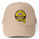 Yellow belt smile   caps_and_hats