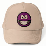 Colored smile violet  caps_and_hats