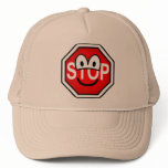 Stop sign emoticon   caps_and_hats