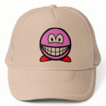 Kirby smile   caps_and_hats