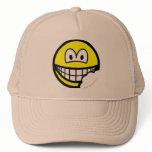 Bitten smile   caps_and_hats
