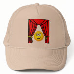 Theater emoticon stage curtains open  caps_and_hats