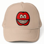 Tomato smile   caps_and_hats