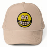 Tired smile   caps_and_hats