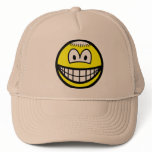 Monk smile   caps_and_hats