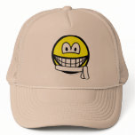 White belt smile   caps_and_hats