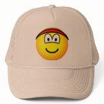 Headband emoticon   caps_and_hats