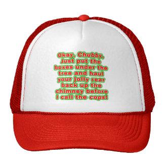 Caps, Hats - Bad Chubby Santa