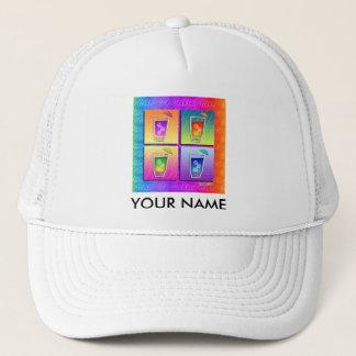 Caps, Hats - Pop Art Cocktails