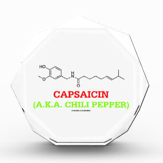 Capsaicin (A.K.A Chili Pepper) Chemical Molecule Awards