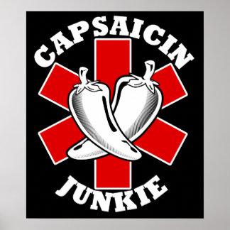 Capsaicin Junkie $24.95 Art Poster