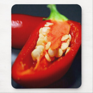 Capsicum Seeds Mouse Pad