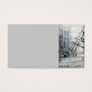 capsize-184167 capsize sailing ship stuck wrack si business card