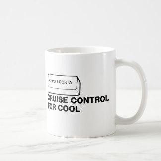 capslock - control de travesía para fresco tazas de café