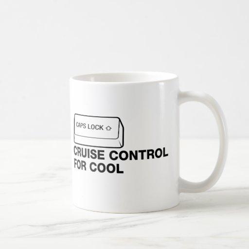 capslock - control de travesía para fresco taza clásica